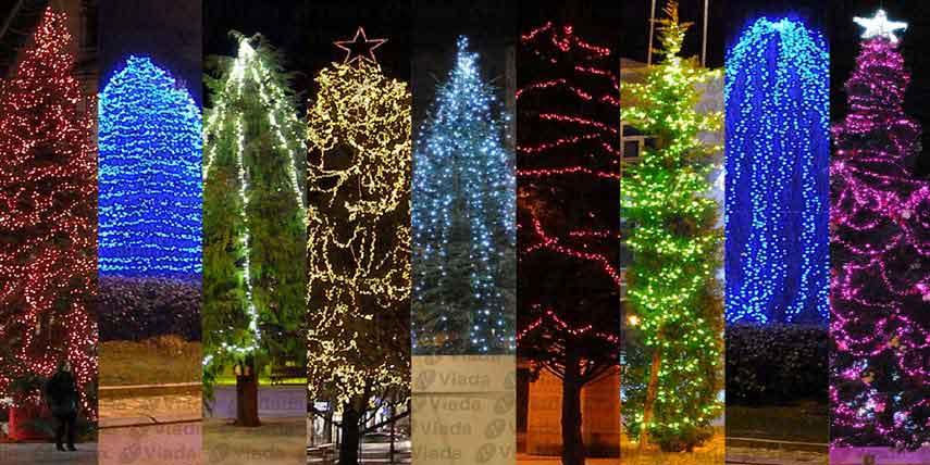 Diferentes maneras de decorar el árbol de Navidad