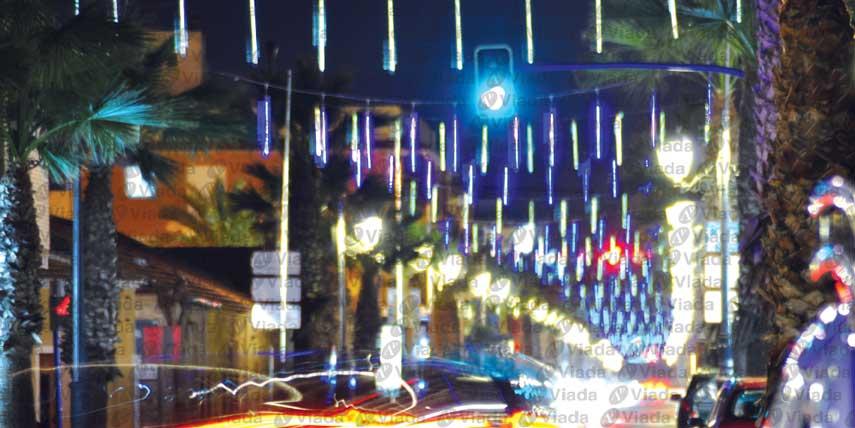 Circuito led intermitente con goteos