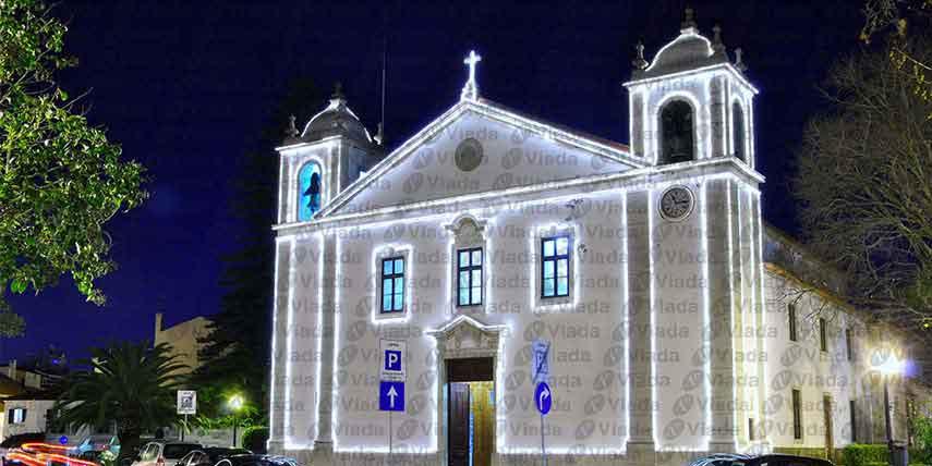Perfilado de luz en Iglesia barroca